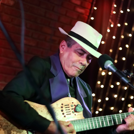 Adrian Montijo is widely regarded as one of the leading jazz and flamenco guitarists in South Florida.