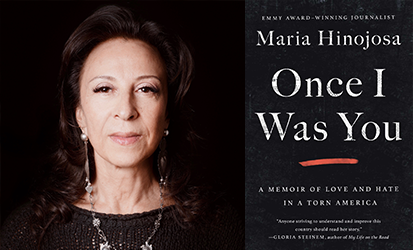 An award-winning journalist, Maria Hinojosa has reported on stories and communities in America for nearly thirty years that often go ignored by the mainstream media. She is the anchor for NPR's Latino USA. Her current book, Once I Was You, A Memoir of Love and Hate in a Torn America was named as one of the Best Book's of 2020 by BookPage, Real Simple, Boston.com, and NPR.