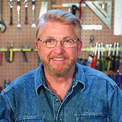 """A leading authority in the do-it-yourself home improvement field, Ron Hazelton is the host of his own home improvement series, """"Ron Hazelton's HouseCalls,"""" now in its 21st season. Formerly, he was the Home Improvement Editor for ABC's """"Good Morning America"""". As founder of the online destination www.ronhazelton.com, he's an enthusiastic advocate for the internet and believes that television and digital platforms are the ideal mediums for delivering how-to content to home improvement enthusiasts."""