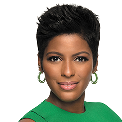"""Emmy® Award-winning talk show host Tamron Hall is the host and executive producer of the popular nationally syndicated talk show """"Tamron Hall."""" Formerly of the """"Today show,"""" she has also hosted six seasons of """"Deadline: Crime"""" on Investigation Discovery. While at NBC, she was a recipient of the Edward R. Murrow Award for her report on domestic abuse. Tamron currently serves as an advocate for domestic violence awareness. With more than two decades of journalism experience, including her six years as the host of the """"Deadline: Crime"""" series on Investigation Discovery, Tamron Hall has a unique wealth of knowledge about the world of crime reporting. Drawing on this and her own personal experience of losing a sister to murder, Tamron's newly released book, AS THE WICKED WATCH, is the dazzling debut volume of her new crime thriller series."""